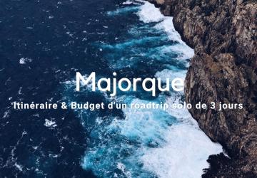 Majorque: roadtrip solo de 3 jours